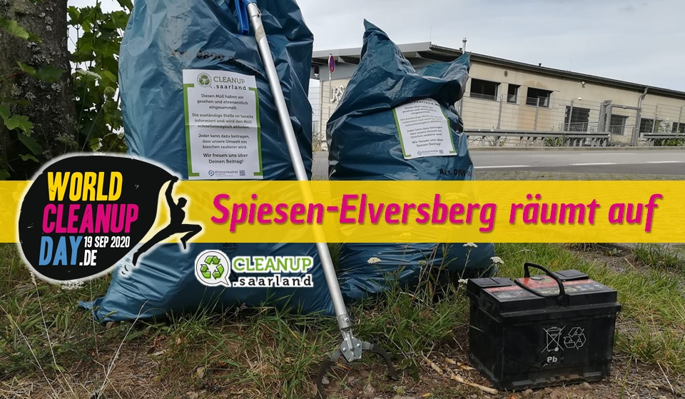 World Cleanup Day in Spiesen-Elversberg